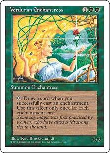 Verduran Enchantress 4E