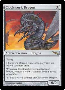 Clockwork Dragon MRD