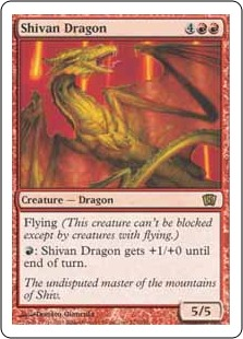Shivan Dragon 8ED