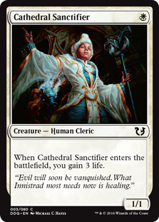 Cathedral Sanctifier DD