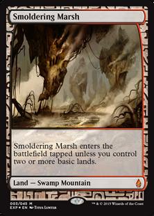 Smoldering Marsh EXP