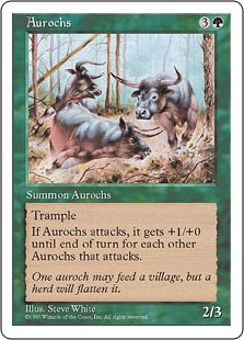 Aurochs 5E