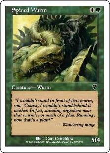 Spined wurm 7E