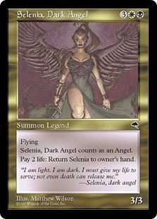 Selenia, Dark Angel TMP