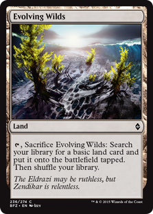 Evolving Wilds BFZ