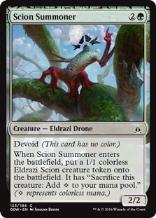 Scion Summoner OGW
