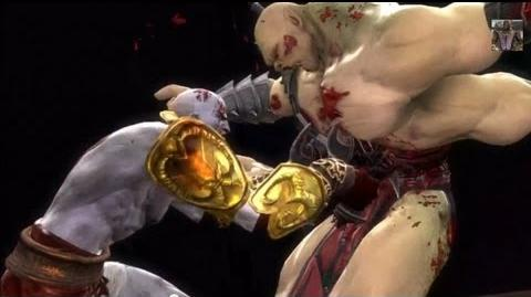 Mortal Kombat 9 All Fatalities on Goro