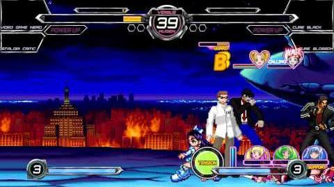 M.U.G.E.N Battle 3v3 Intecreative Webs vs