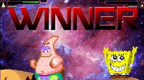 Mugen SpongeBob & Patrick vs sonic & shadow