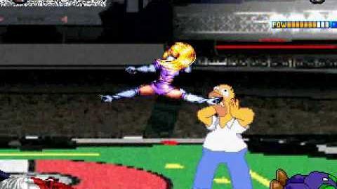 D N Mugen Homer Simpson & Iori Yagami Survivor