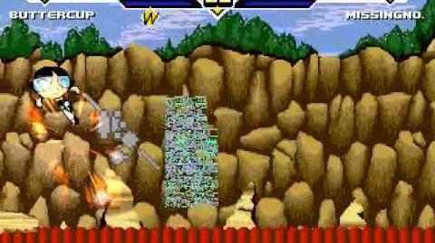 TK's Random Mugen Battle 914 - Buttercup VS MissingNo