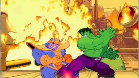 Mugen 32 Savage Hulk vs Thanos