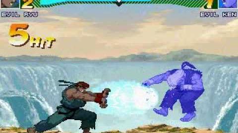 MUGEN - Evil Ryu vs Evil Ken, The Showdown