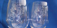 Millennium Lead Crystal Glasses