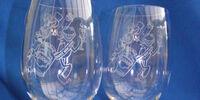 Millennium Lead Crystal Glasses