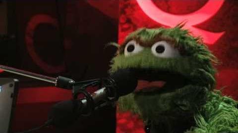 Oscar the Grouch on Q TV