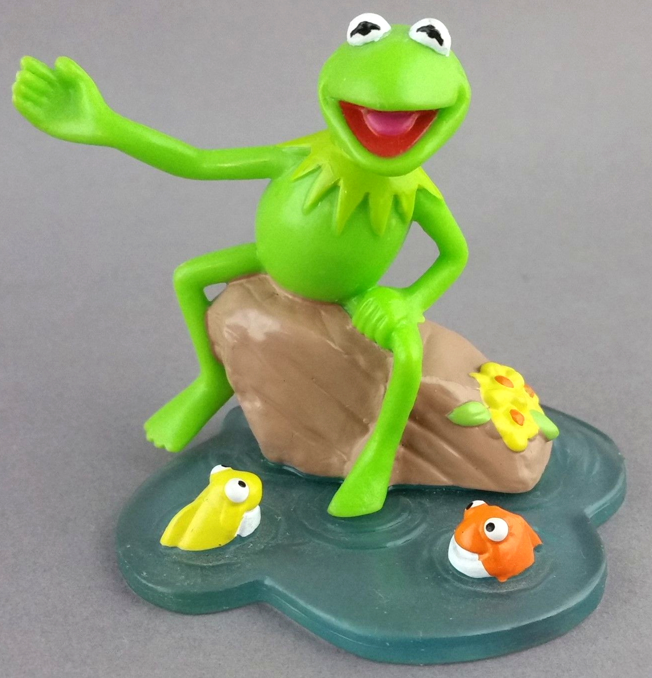 Applause Muppet PVC Figures on oscar and slimey figures