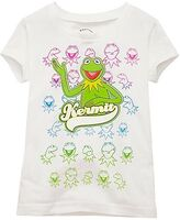 Many Faces of Kermit Girls 2010 disney store shirt