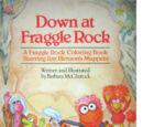 Fraggle Rock coloring books