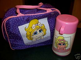 Aladdin 1989 soft lunchbox piggy