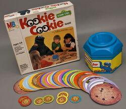 Milton bradley 1980 kookie cookie 5