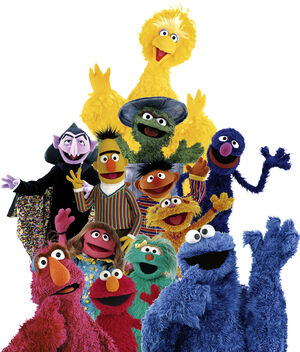 Sesame Street Characters