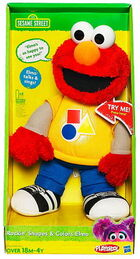 Talking elmo plush rocking shapes and colors 2