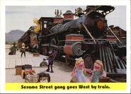 1992 sesame trading cards 60
