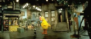 Sesame Street panoramic 1970s
