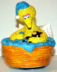 Applause music box big bird nest