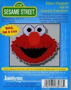 Janlynn1999XstitchElmoMagnet