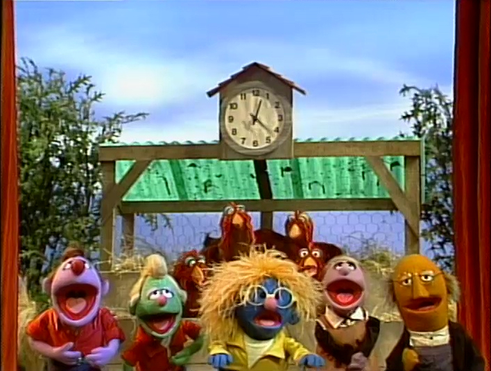 Sesame Street Sing Hoot And Howl Vhs Cluck Around the Clock...