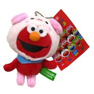 Sanrio 2009 mascot animals elmo pig