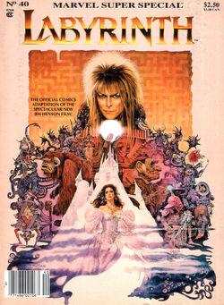 Labyrinth Marvel Super Special