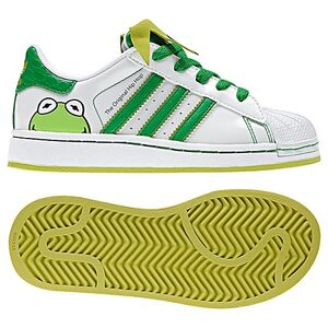 adidas superstar slip on kids Green