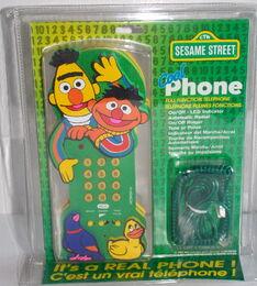 Recyco 1997 phone ernie bert