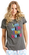 Peter alexander i'm with the band tee