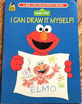 1994 - 1989 golden coloring book i can draw it myself 1
