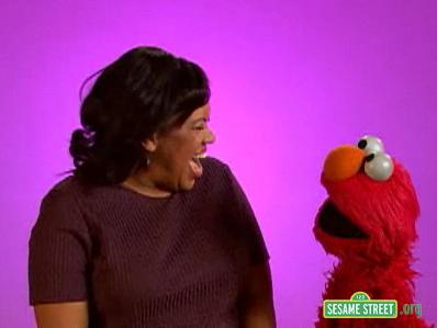 File:Backstage with Elmo - Chandra Wilson.jpg