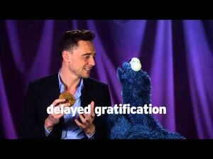 Cookie Monster Learns a Lesson from Tom Hiddleston