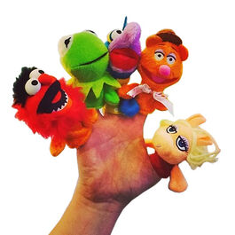 Finger puppets odeon 2014