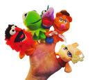 Muppet finger puppets (Odeon)