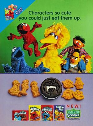 SesameStreetSnacks2000PrintAd