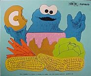 Playskool1973CookiesCPuzzle12pcs