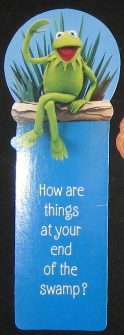 Hallmark bookmark 1980 kermit