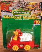 Fisher-price die-cast cars big bird fire engine