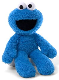 Gund 2011 take along buddy cookie monster