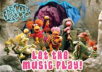 Poster Fraggle Rock-Let The Music Play
