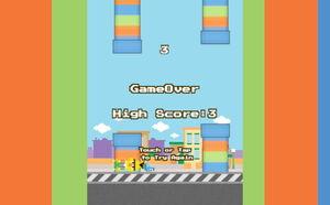 Flappy bert score