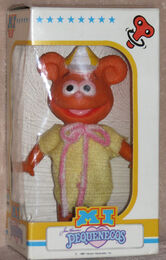 Barval spain 1986 wind-up muppet babies fozzie figure 1